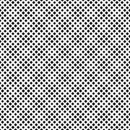 Abstract seamless rounded diagonal square pattern background Ilustrace