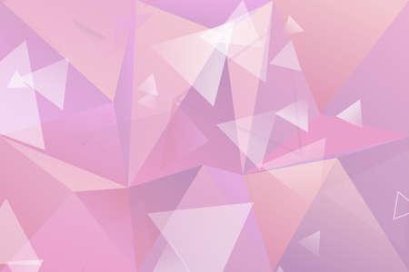 Gradient abstract random triangle polygon web background