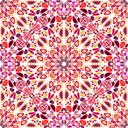Seamless abstract mandala flower pattern background art