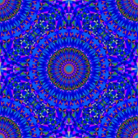 Oriental seamless polygonal mandala ornament pattern background art