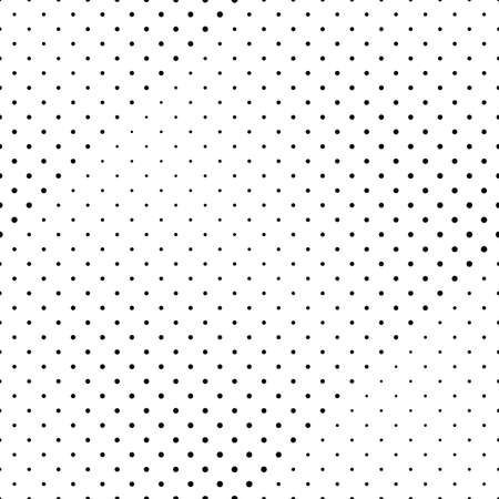 Monochrome abstract seamless circle pattern background design
