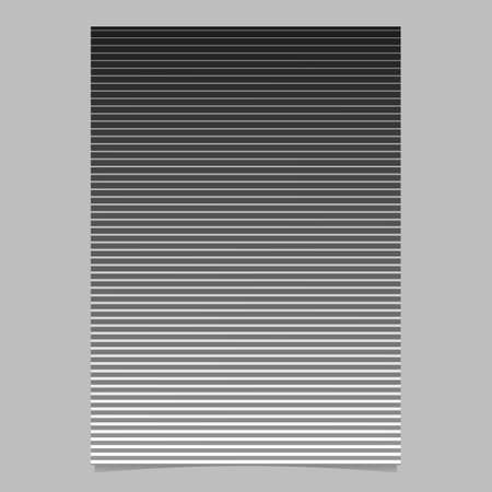 Geometric stripe flyer - abstract gradient vector template