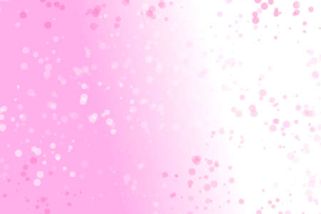 Gradient random particle background design - abstract colorful vector graphic with circles Ilustrace
