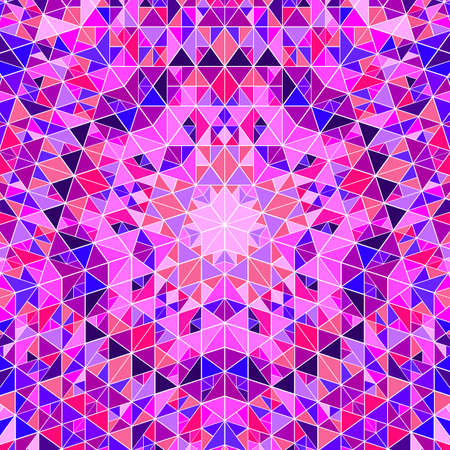 Abstract polygonal colorful circular tiled pattern background design