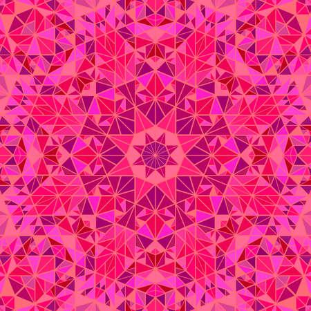 Dynamic colorful polygonal round pattern mosaic background design