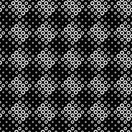 Geometrical abstract seamless circle pattern background design