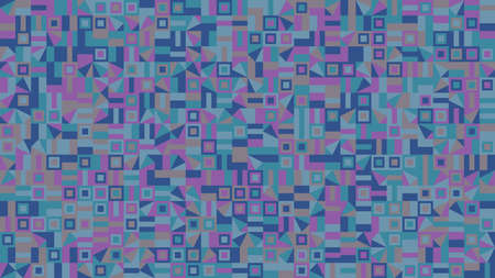Geometric pattern background - colorful abstract vector graphic design Ilustrace