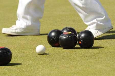 bowl game: Lawn Bowls