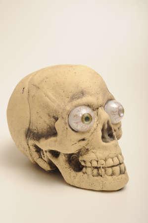 gimmick: Halloween skull