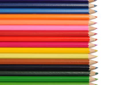 컬러 연필 스톡 콘텐츠 - 15404825