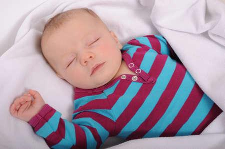 아기 수면 스톡 콘텐츠 - 16690894