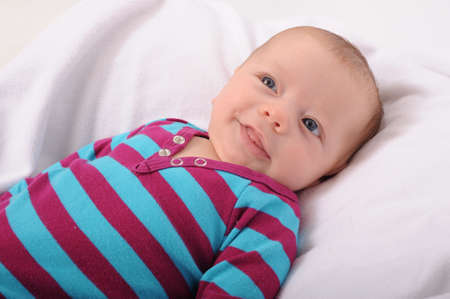 Baby smilling 스톡 콘텐츠