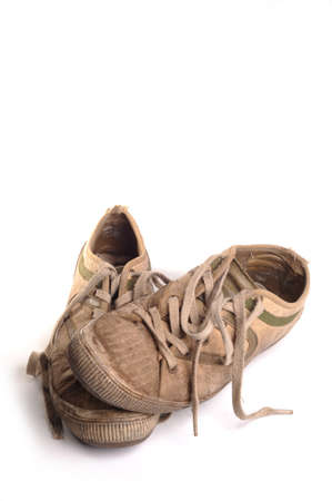 Dirty jogging shoes