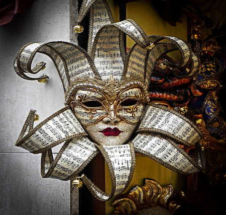 pentagramma musicale: Maschera di Carnevale