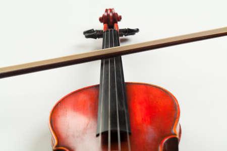 detail of violin