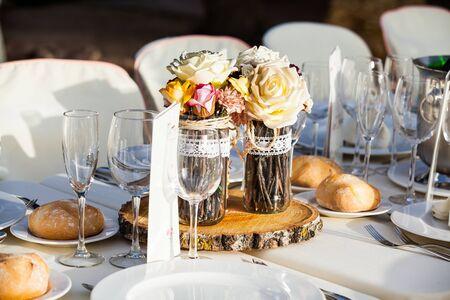 Ornamental decor in a wedding.