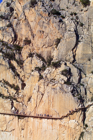 kings canyon national park: Caminito del Rey route in Malaga, Spain.