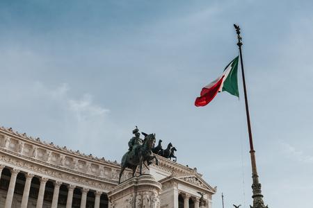 il: Il Vittoriano. Rome, Italy. Stock Photo