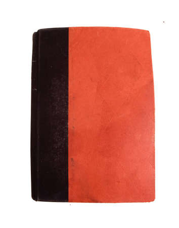 old red  orange book cover ,