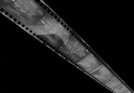 35 mm film negatives