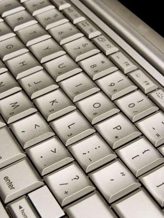 silver keyboard