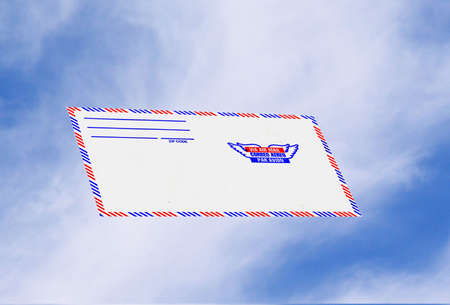 abstract air mail