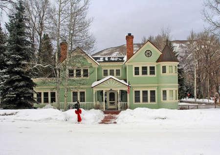victorian home in aspen