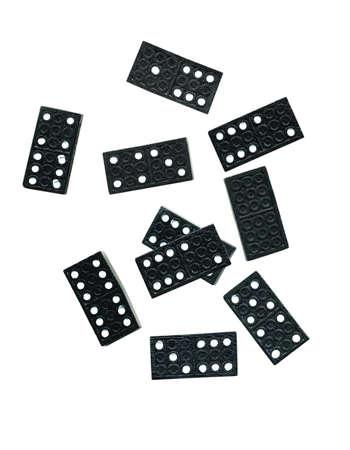 arandom colection of dominos Stock Photo - 399151