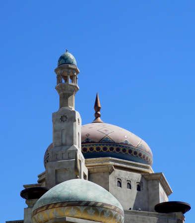 lattice window: arabic dome Stock Photo
