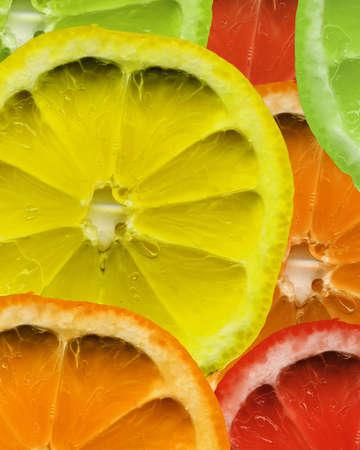 mixed fruit background
