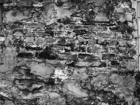grungey:  grungey old brick wall