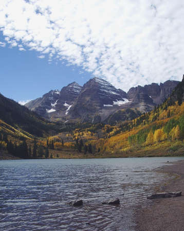 maroon bells photo