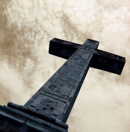 gothic style cross