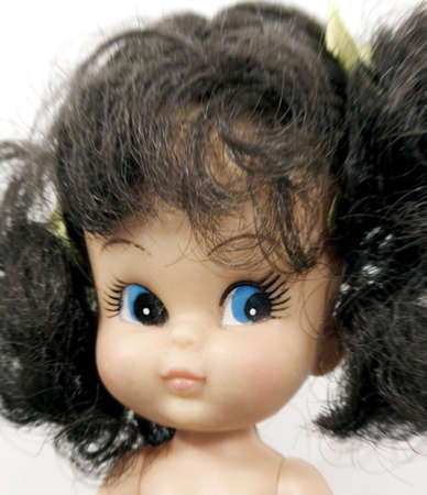 old plastic doll  (bad hair day) photo