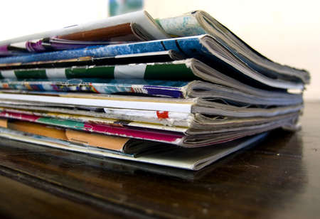 magazines on table Stock Photo - 531455