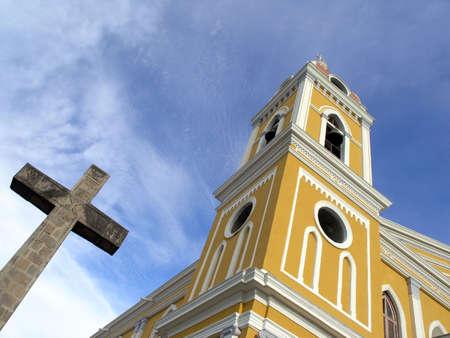 Nicaragua: cathedral in granada nicaragua