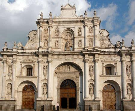 antigua: cathedral antigua