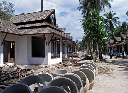 construction in rily thailand