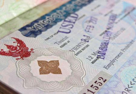 タイのビザのイメージ