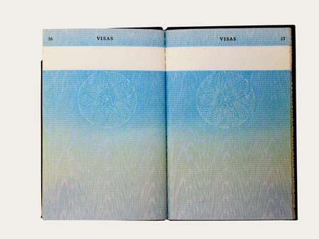 old british passport    Imagens