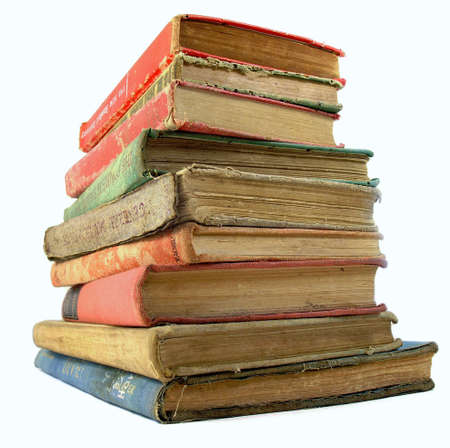 stack of old books Stock Photo - 1105691