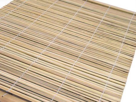 sushi bamboo mat       photo