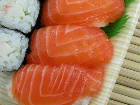 crusted: sushi       Stock Photo
