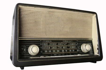 radio retr�: Retr� radio  Archivio Fotografico