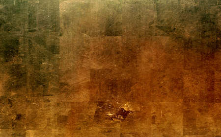 tarnished: gold metal background