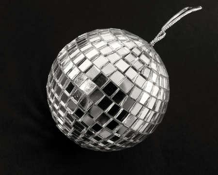 retro mirror ball on black Stock Photo - 2034707