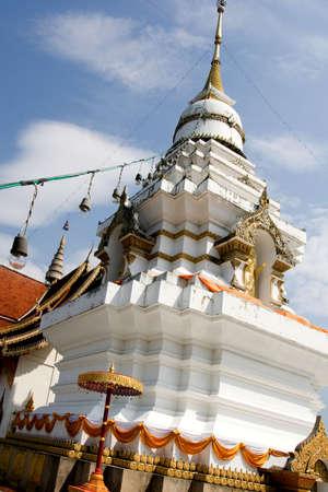 chang: temples chang mai thailand Stock Photo