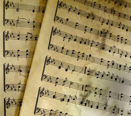 crotchet:  old sheet music