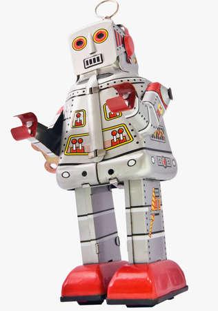 tin robot man