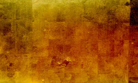 tarnished:  gold plate background Stock Photo